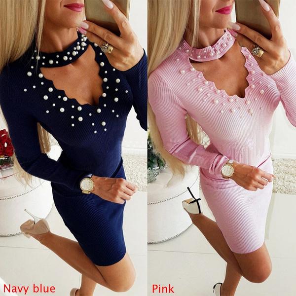 Mini, Halter, ladies dress, packagehip