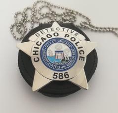 policebadge, Us, movieprop, Chicago