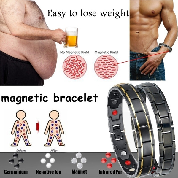 Steel, weightlo, loseweight, magnetictherapybracelet