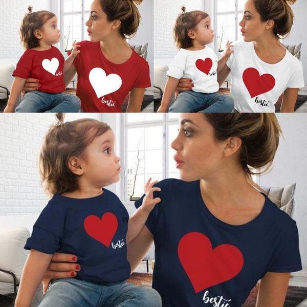 Heart, heartprint, kids clothes, Family