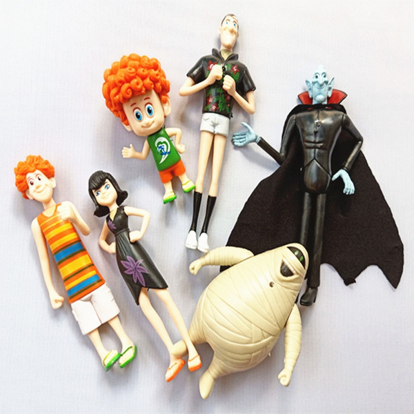 6 PCS Hotel Transylvania Character Toy Action Figure Model Collection Xmas Gifts