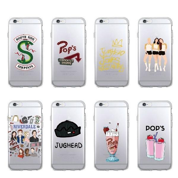 check out ce03c a2cea Riverdale South Side Serpents Phone Case Design Riverdale Hard Phone Cover  For Iphone 6 6s Plus 7 7 Plus 8 Plus X Samsung S8 Plus