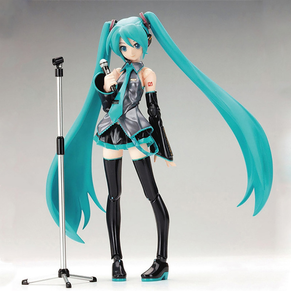 15cm Movable Anime Action Figure Hatsune Miku Model Toy PVC Figma 014 Heroines