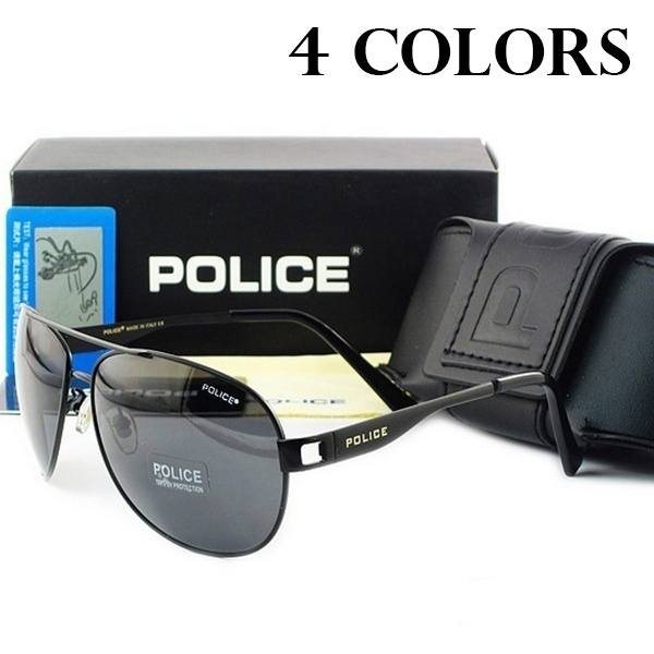 209aa36b2e7 Police Sunglasses Tide Men Fishing Polarizing Glasses Sunglasses Driver  Glasses Anti UV Driving Glasses