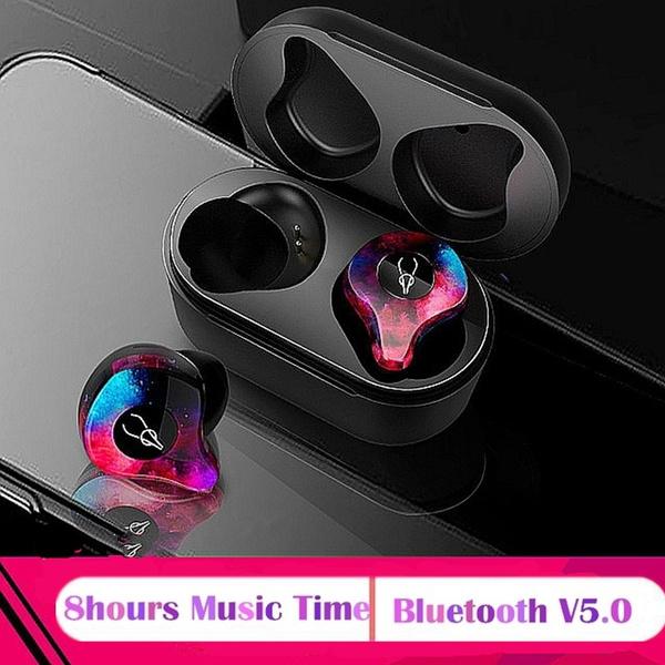 HOTSALE SABBAT E12 Portable Bluetooth V5 0 IPX5 Waterproof Headset Wireless  Earphone In-ear Earpiece Hand-free HiFi Subwoofer Headphone with Charging