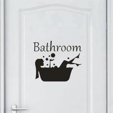 decoration, Bathroom, bathroomsticker, Home Decor