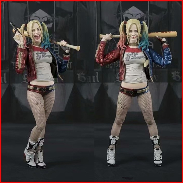 "7/"" Suicide Squad Harley Quinn Action Figure Toy Doll in box Collection Gift"