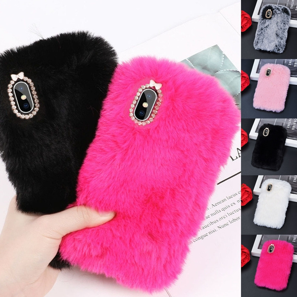 fluffy iphone 7 case