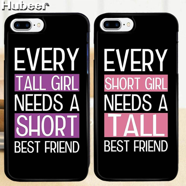 low cost 1e150 0140c Best Friend Rose BFF Couple Phone Case For iPhone 5 / 5S / SE, 6 / 6S, 6  plus / 6S plus, 7 / 7 plus,8/8Plus, for Samsung S6 / S6 Edge / S6 Edge Plus  / ...