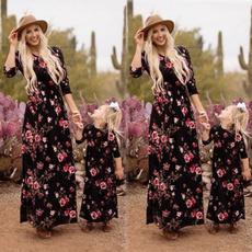 b3bf25b529ed parentchildoutfit, Fashion, longsleeveddresse, Family