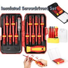crossheadscrewdriver, insulated, Screwdriver Bit Sets, Phillips screwdriver