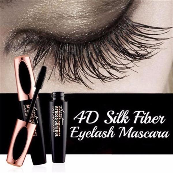 7081dcba117 New 4D Silk Fiber Lash Mascara Waterproof Rimel 3d Mascara For Eyelash  Extension Black Thick Lengthening Eye Lashes Cosmetics | Wish