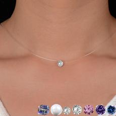 Chain Necklace, Shorts, invisiblenecklace, transparentnecklace