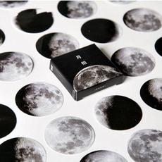 Scrapbooking, labelsticker, Stickers, Moon