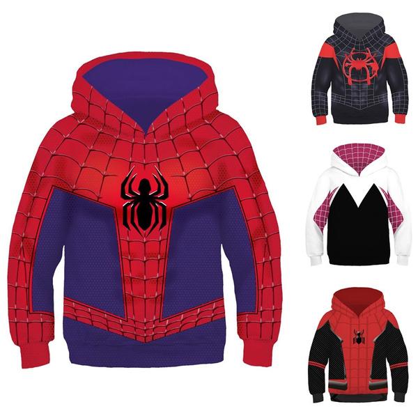Kids Boys Superhero Cosplay Hoodie Coat Toddler Clothes Jacket Costume Outwear
