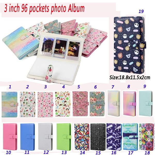 "96 Pockets 3/"" Photo Album for Polaroid Fujifilm Instax Mini 8 9 7s 25 70 90"