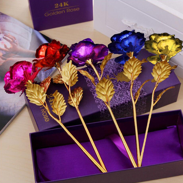 goldplated, Flowers, Love, lover gifts