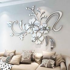 Stickers, homelivingroom, Decor, Flowers