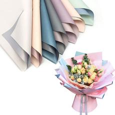 Flowers, Waterproof, Bouquet, wrappingpaper
