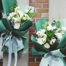 Flowers, Waterproof, Bouquet, Craft