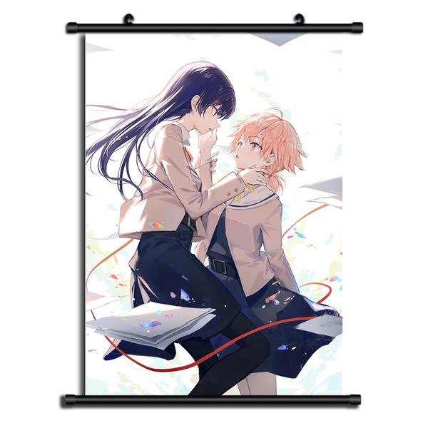 Yagate Kimi ni Naru Bloom Into You HD Print Anime Wall Poster Scroll Cosplay