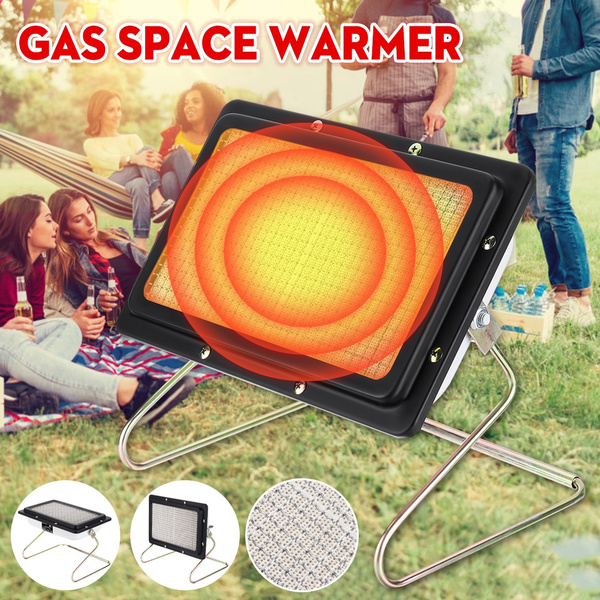 Heating attachment for all portable gas stove tent heater gas heater