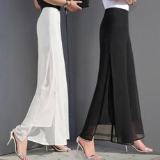 trousers, Ladies Fashion, chiffon, Long pants