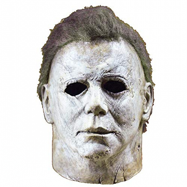 Halloween 2018 Michael Myers Face.Michael Myers Mask Halloween 2018 Horror Movie Cosplay Adult Latex Full Face Helmet Halloween Party Scary Prop