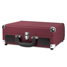 lpplayerbriefcase, vintagerecordplayer, Dj Equipment, Bluetooth