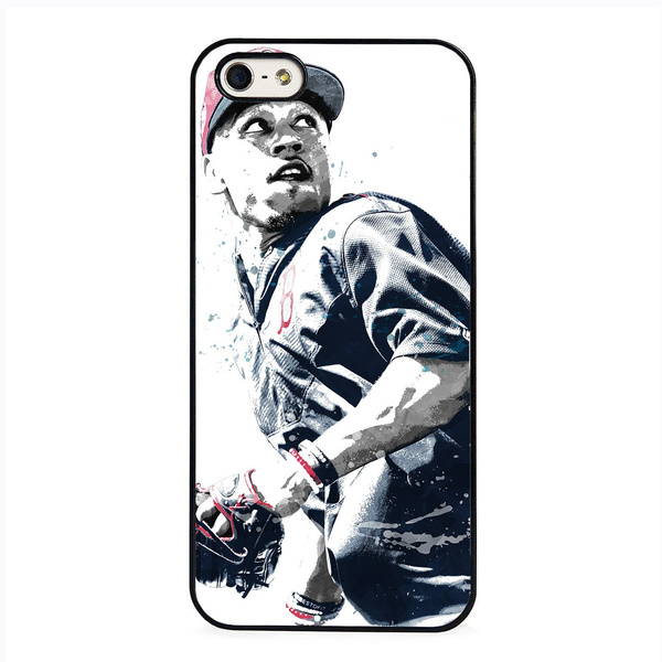 finest selection aeb07 0060a Mookie Betts Boston Red Sox Baseball Fashion Cell Phone Case Cover for  IPhone 4 4S 5 5C 5S 6 6S 6Plus 6SPlus 7 7Plus 8 8Plus X SE for Samsung  Galaxy ...