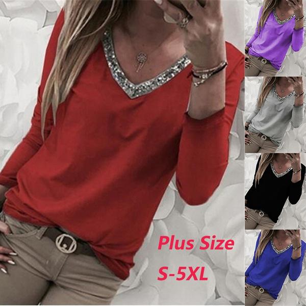 blouse, Plus Size, Shirt, loose top
