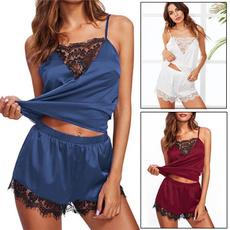 silk, ruffle, Lace, pants