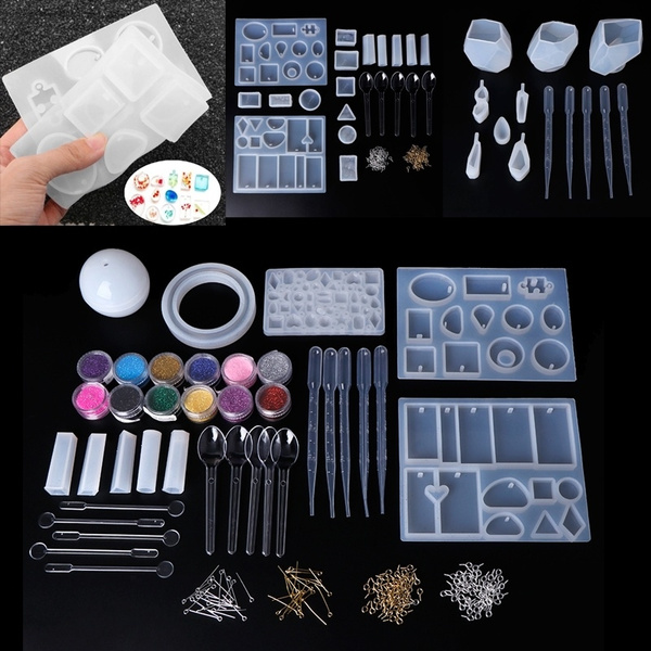 Necklacependent Silicone Mould DIY Resin Decorative Craft Jewelry Making Mold MW