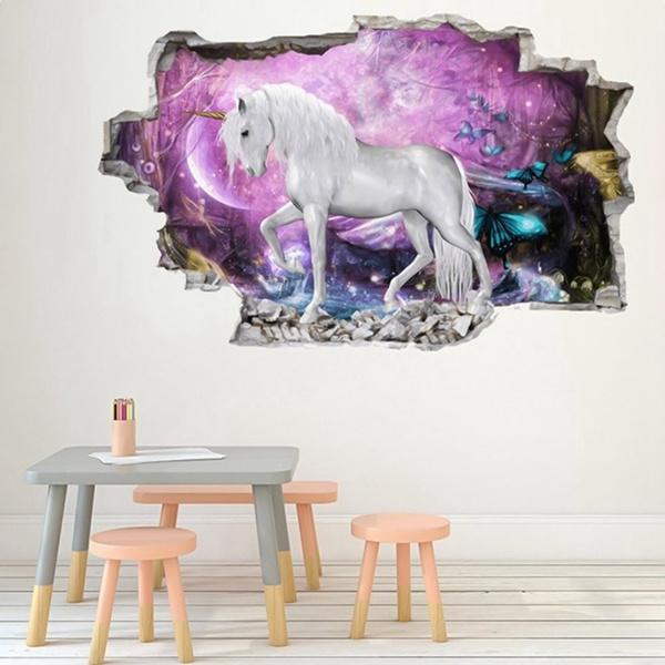 horse, muraldecal, Home Decor, Home & Living