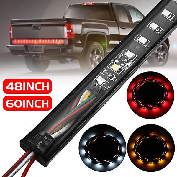 48Inch Pickup LED Tailgate Light Bar Truck Tail Brake Turn Signal Light Strip