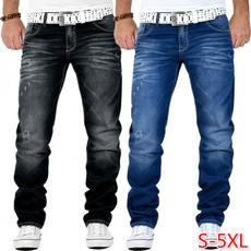 Plus Size, pants, Denim, denim leggings