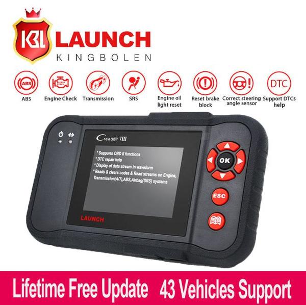 2019 X431 CREADER VIII CRP129 OBD2 Diagnostic Scanner Transmisson Tool ABS  SRS
