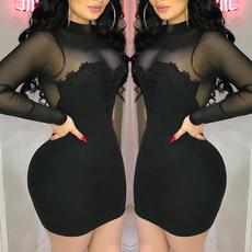 slim dress, Club Dress, Fashion, Stitching