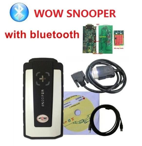 Auto Diagnostic Scanner 2014 R2 DIAGNOSIS MULTIMARCA WOW SNOOPER /  UNIVERSAL DIAGNOSTIC WOW SNOOPER Wow Snooper Scanner Car Code Scanner Car
