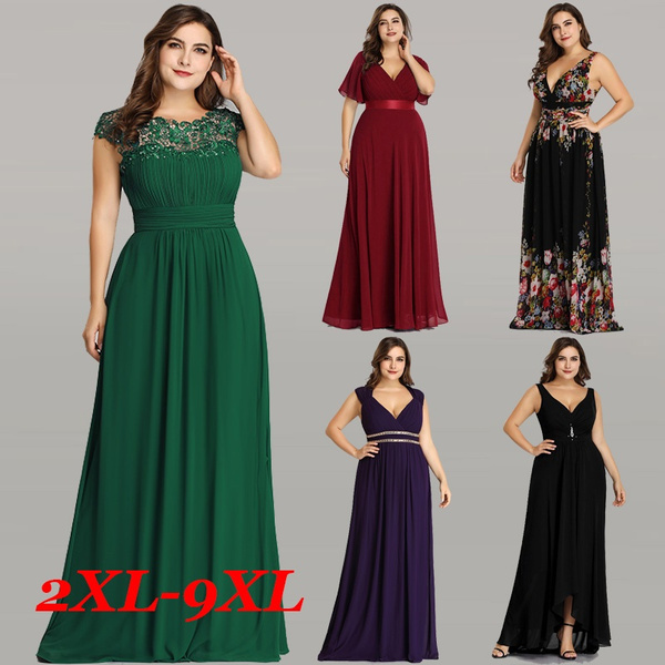 Ever Pretty Women Plus Size Elegant Evening Formal Prom Bridesmaid Dresses