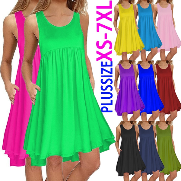 Summer, Plus Size, Mini, plus size dress