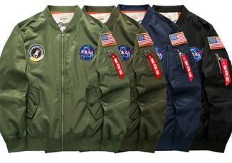 Plus Size, Coat, Men, pilotjacket