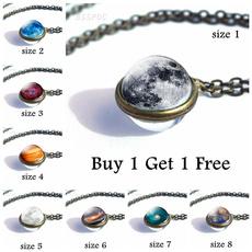 solarsystemjewelrynecklace, glassjewelry, Jewelry, Glass
