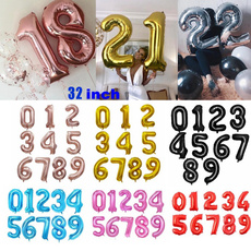 foilballoon, birthdayballoon, Balloon, numberballoon