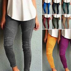 trousers, Yoga, Elastic, pants