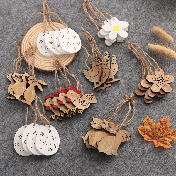 easterdecoration, Natural, eastereasterpendant, Wooden