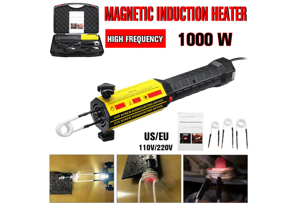 1000W LED Mini Ductor Magnetic Induction Heater Kit Automotive Flameless Heat