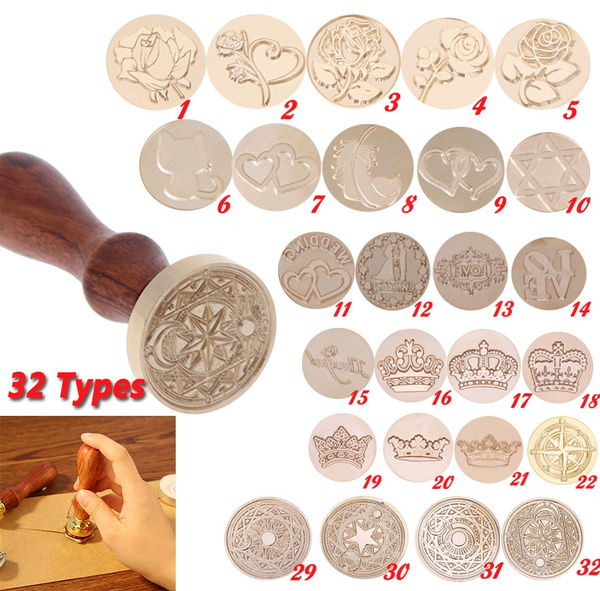 waxseal, Copper, Head, sceaucire