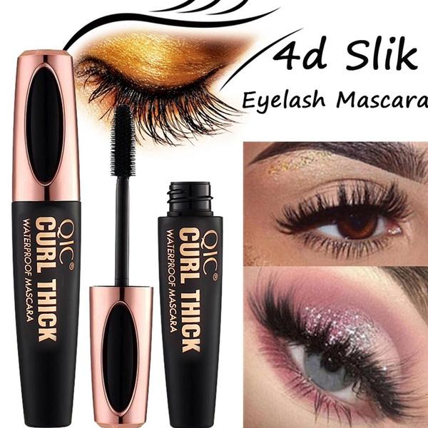 7b7e346e04b 4D Silk Fiber Lash Mascara Waterproof Rimel Mascara For Eyelash Extension  Black Thick Lengthening Eye Lashes Cosmetics   Wish
