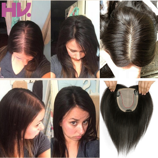 Best Human Hair Toppers For Thinning Hair